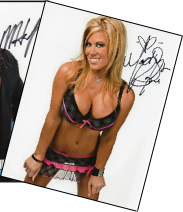 TNA/LEGENDS SIGNED PHOTOS