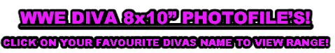 "WWE DIVA 8x10"" PHOTOFILE'S!