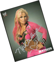 SIGNED WWF/WWE PROMOS & GLOSSY PHOTOS SUPERSTARS/DIVAS HEADING